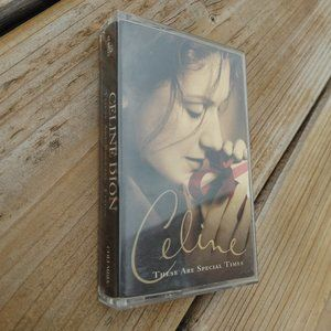 Celine Dion These are Special Times Cassette